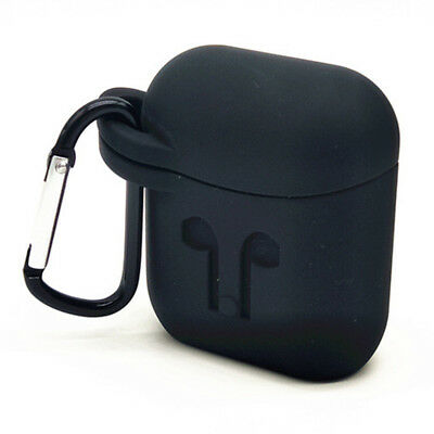Silicone Carrying Case For Apple AirPod Earphone Earbud Charging Storage Bog Box