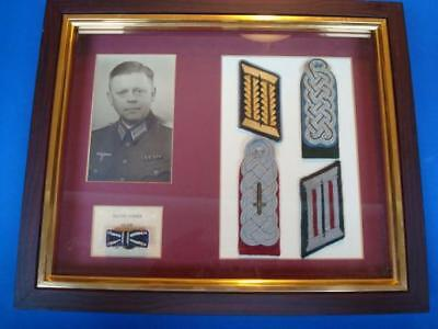 Wwii Justice Official Insignia Shadow Box