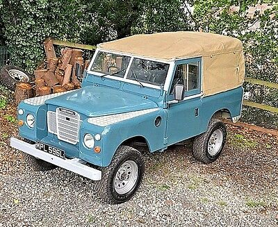 """1972 Land Rover Series 3 SWB 88"""" - Long MOT * GALVANISED CHASSIS* Tax Exempt"""