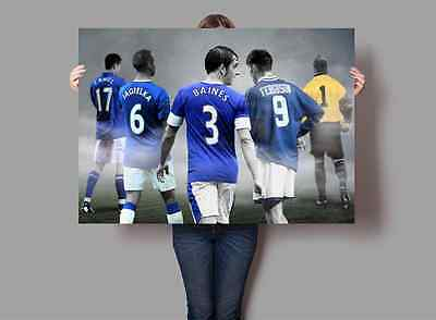 Everton Football Club Legends Poster