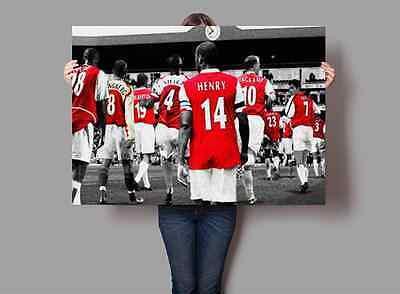 Arsenal 'Invincibles' Poster