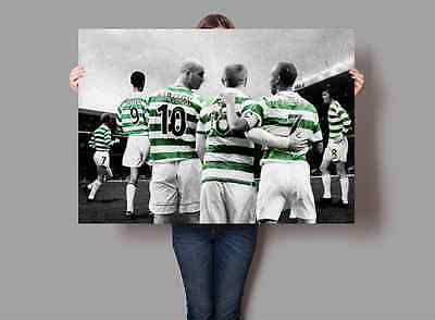 Celtic Football Club Legends Poster