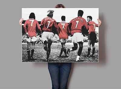 Manchester UNited Number 7s Legends Poster