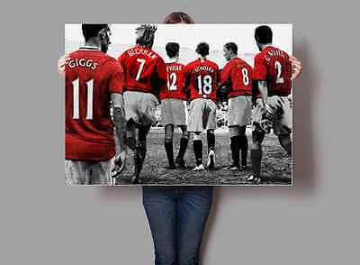 Manchester United 'Class of 98' Legends Poster