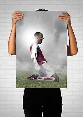 Thierry Henry Arsenal Football Club Legend Poster