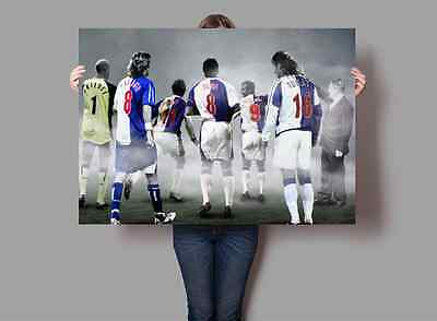 Blackburn Rovers FC Legends Poster