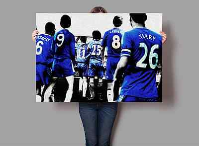 Chelsea Football Club Legends Poster