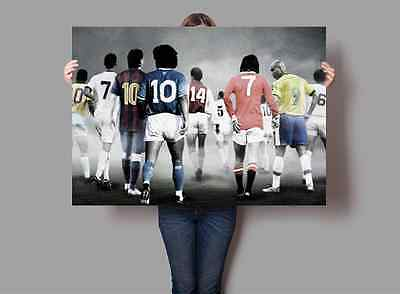 Footballing Greats Legends Poster