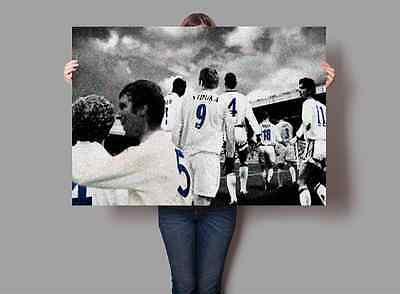 Leeds United Legends Poster