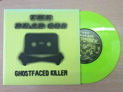 """THE DEAD 60's - GHOST FACED KILLER/D-60 FIGHTS THE EVIL FORCE   7"""" VINYL P/S"""