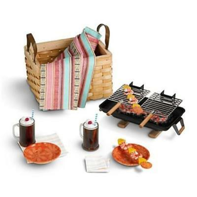 American Girl Doll Julie's Birthday Goodies Hibachi Barbeque NEW!! Complete