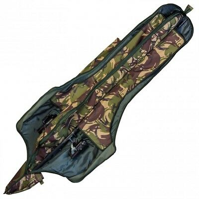 Saber Tackle NEW DPM Camo 3 Rod 12ft Holdall / Sleeve Carp Fishing Luggage