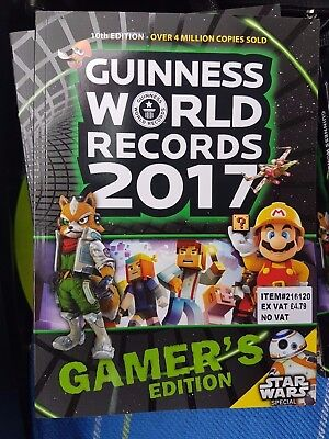 Guinness Book of World Records 2017 Gamer's Edition - Stocking Filler