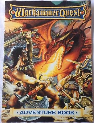 Warhammer Quest Adventure Book Warhammer WHFB Games Workshop
