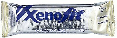 XENOFIT carbohydrate Bar 21 x 68g Banane KOHLENHYDRAT ENERGIE RIEGEL + VITAMINE