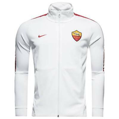 Nike AS Roma Authentic Franchise Jacket 2017/18 - White - Mens