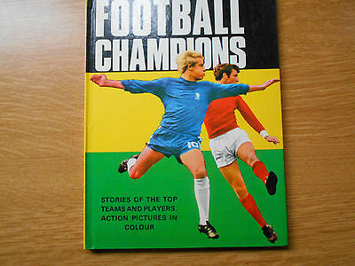Football Champions Annual 1968/69 Book Leeds United Chelsea Manchester City