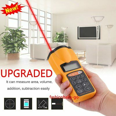 LCD Digital Laser Distance Meter Range Finder Measure Tape Ultrasonic Sensor AL2