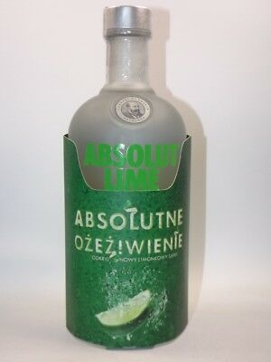Absolut Vodka Lime 700 ml  40% vol Poland selten