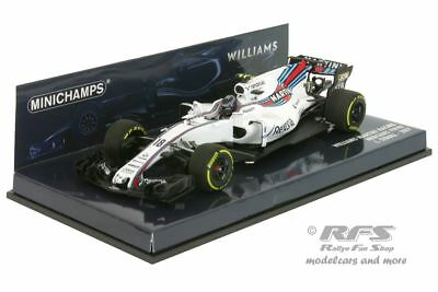 Williams FW40 Mercedes-AMG - Stroll - Formel 1 2017 - 1:43 Minichamps 417170018
