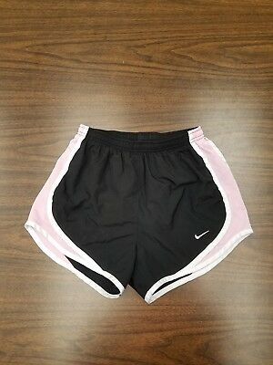 Authentic Nike fit dry Women's Running Shorts black and pink Size XS