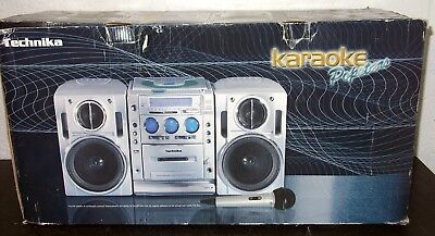Technika Karaoke Popstars Home entertainment system with microphone - New