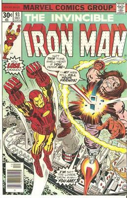 Iron Man Lot of 10 Books (1976-1992 Marvel) All VF ONLY $10.00