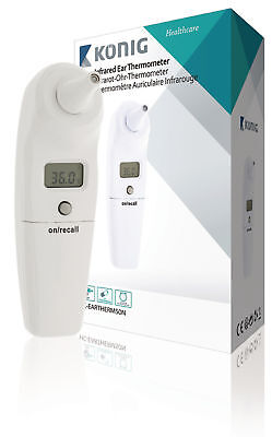 Konig Infrared Thermometer Ear White