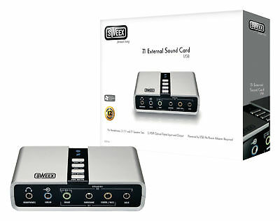 Sweex Sound Card USB 7.1 Interface
