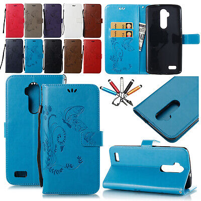 For ZTE ZMAX PRO Z981 Blade Max 3 Z986 Case Cover Card Holder Strap Carry Wallet
