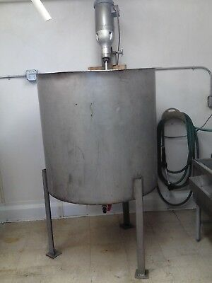 Stainless Steel Mixing Vat 200 gallon USA made