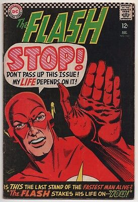 The Flash #163 (Aug 1966, DC)