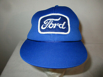 Vintage 80's 90's Youth Kids FORD Snapback Truckers Hat w/ Tags