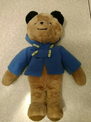 "VINTAGE 1970's PADDINGON BEAR by Eden Toys Inc. 18"" tall."