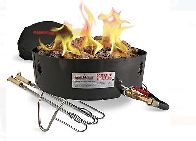 Campfire Pit Portable Propane Gas Camp Chef for Camping Backyard and Open Patio