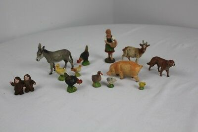 collection of elostolin figures and animals