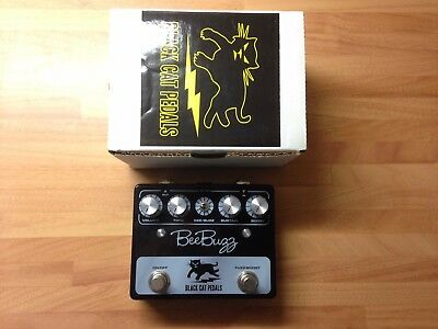 Bee Buzz Black Cat Fuzz Electric Guitar Effects Pedal Roland Bee Ba