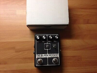 Devi Ever The Black Rocket Fuzz Electric Guitar Effects Pedal Rare