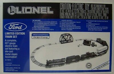 Lionel 6-11814  Ford Limited Edition Train Set