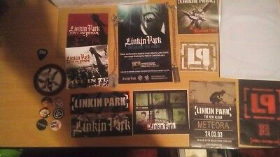 *RARE collection of Linkin Park items*