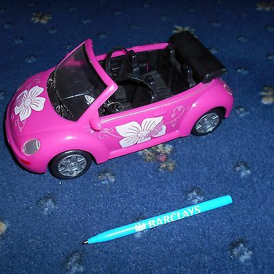 Pink V W, sports car by Simba.