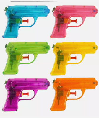 Small Water Guns For Kids In Various Colours, Free Same Day P&p