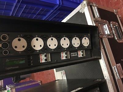 Stage lighting - Pack 6 x 2.4K dimmer  Digi6 Stand 63a & 32a in &15a & Soca out
