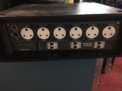 Stage lighting Dimmer Pack Strand DIGI6 DMX-63a & 32a in cables15a & Soca out