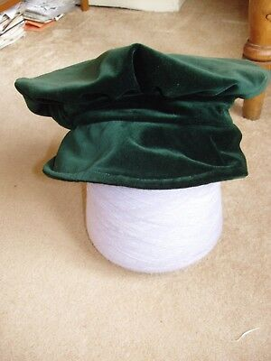 Tamsin Young Hats - New with label £52 Old stock Vintage style Green Velvet Hat