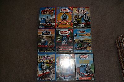 Huge Bundle Thomas & Friends Dvds***9 Items****good Used Condition***