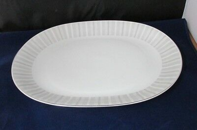 "Pattern Nassau By Heinrich H And Co. 13  3/ 8 "" Oval Serving Platter"