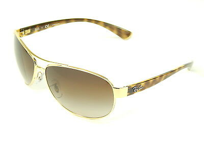 Ray Ban RB3386 001/13 Arista Gold / Brown Gradient 67mm Sunglasses