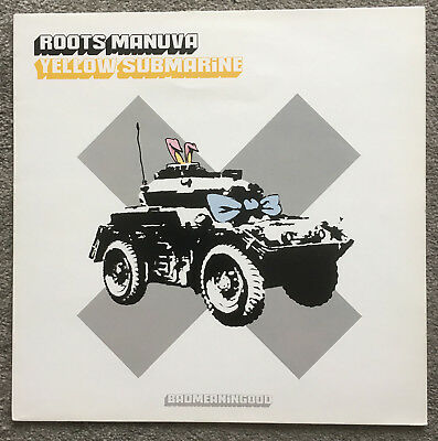 "Roots Manuva Yellow Submarine Banksy Artwork Sleeve 12"" Vinyl  Limited To 5,000"