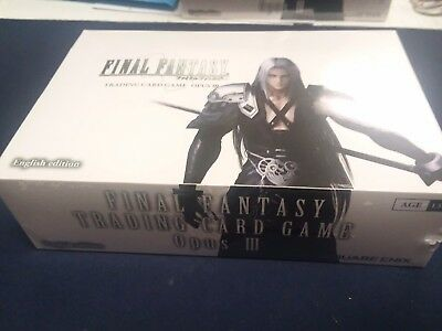 Final Fantasy TCG - Opus 3 Booster Box - Factory Sealed